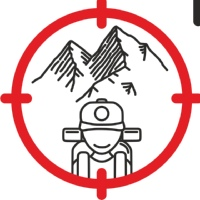 """Логотип Клуб путешествий """"Пушка"""". Походы, сплавы."""