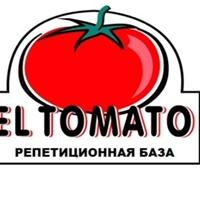 """Логотип Репетиционная база """" El Tomato """" Волгоград"""