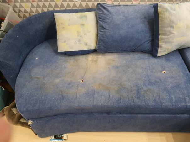 Отдам даром большой диван. Пишу как есть диван не для ква...