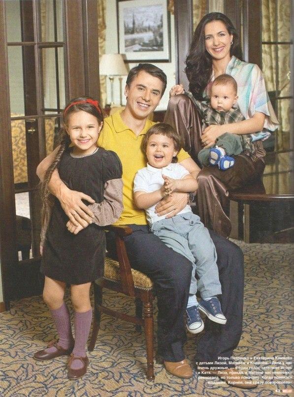 Семьи актеров и актрис.