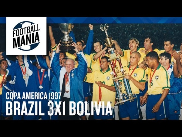 Copa América 1997 Final Brasil 3x1 Bolivia Brasil Campeão