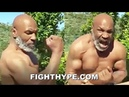 (WOW!) MIKE TYSON FLEXES RIPPED PHYSIQUE AT 53; DISPLAYS HAND SPEED AND REPEATS I MIGHT COME BACK