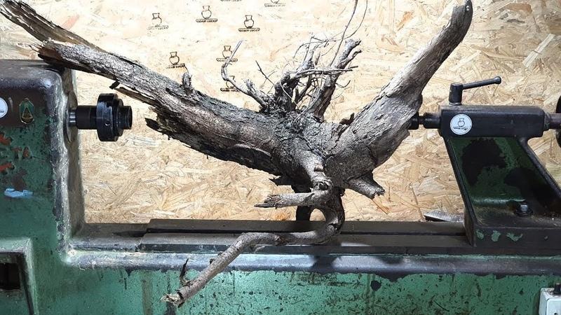 Woodturning Resin wood a beautiful vase Resina madeira um belo vaso