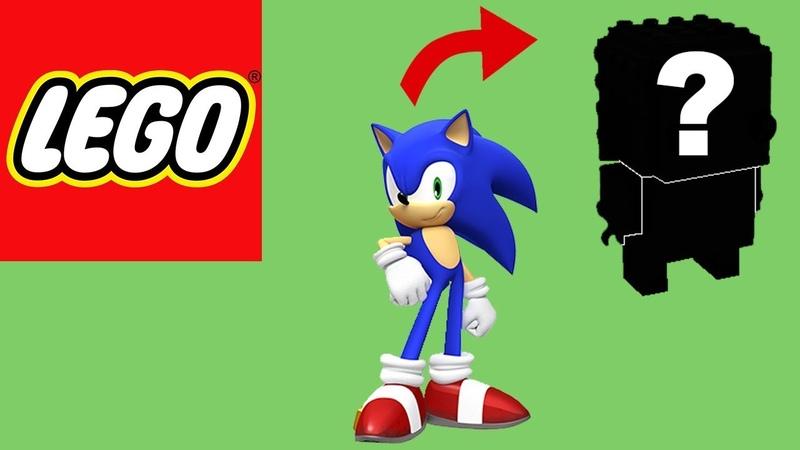 How to Build Lego Sonic Brickheadz