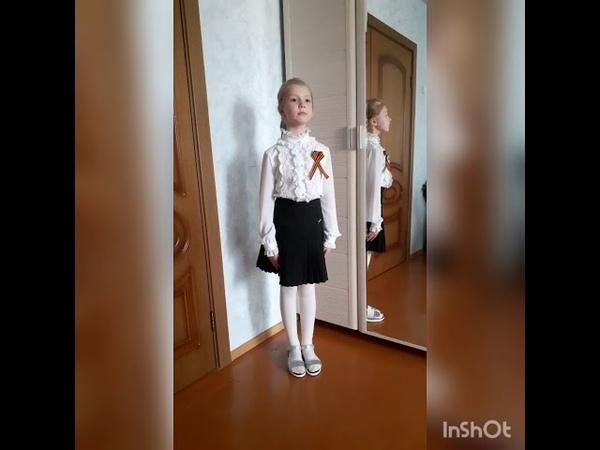 Несовместимы дети и война О.Хромушин поет Белова София 8 лет