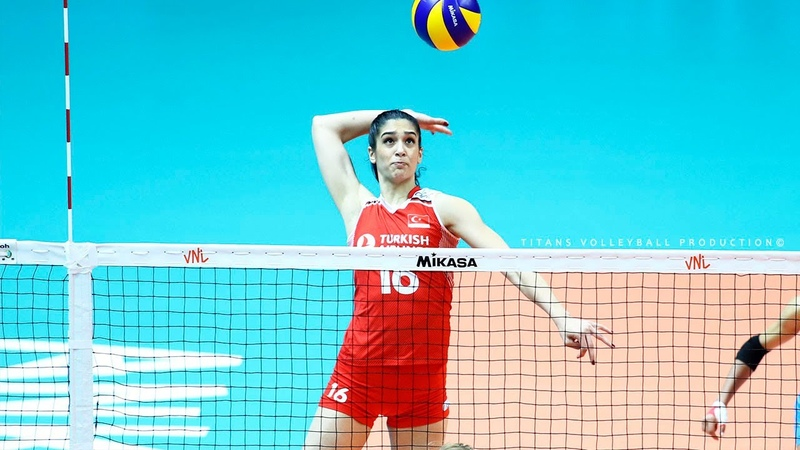 Yasemin Guveli Best Volleyball Actions 2019 2020 SPIKES BLOCKS DIGS Women's Volleyball