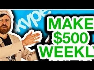How to make $500 daily with Skype # best opportunity to make money online