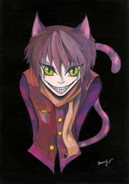 картинки чеширский кот крипипаста