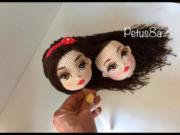 Marca los ojos de tus muñecas antes de bordar amigurumis by Petus