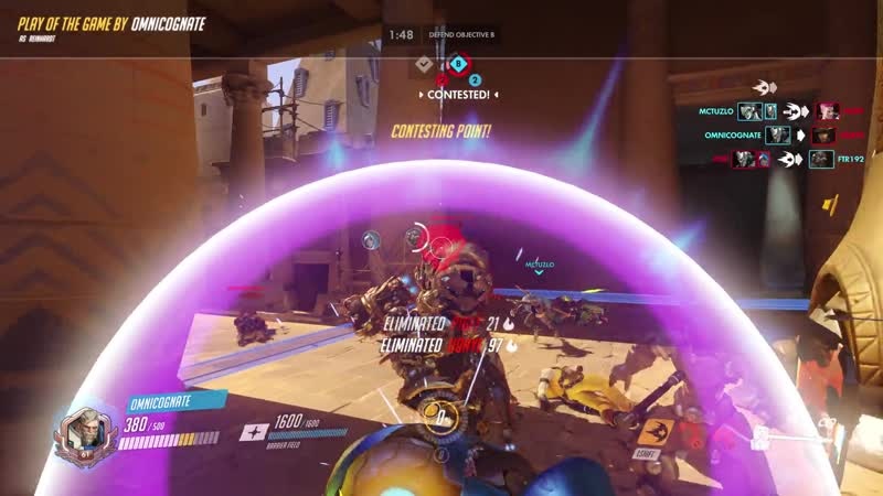 Full team shatter on final point clutched a win from it