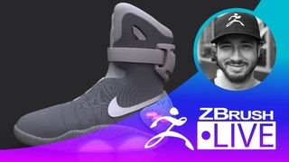 Back to the Future II Nike MAG Fan Art - Shoe Design Techniques - Solomon Blair - Episode 1