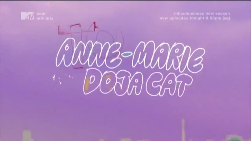 Anne Marie ft Doja Cat To Be Young MTV Asia Clean Version