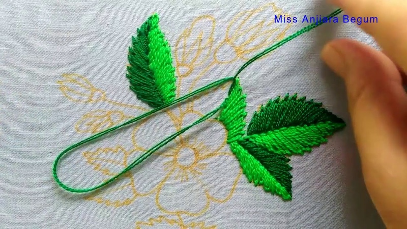 How to do creative Hand Embroidery for your Dress,Outstanding Home Embroidery art-91, Miss_A