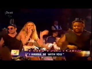 Fun Factory - I Wanna Be With You (Live Concert 90s Exclusive Techno-Eurodance Dance Haus 1995)