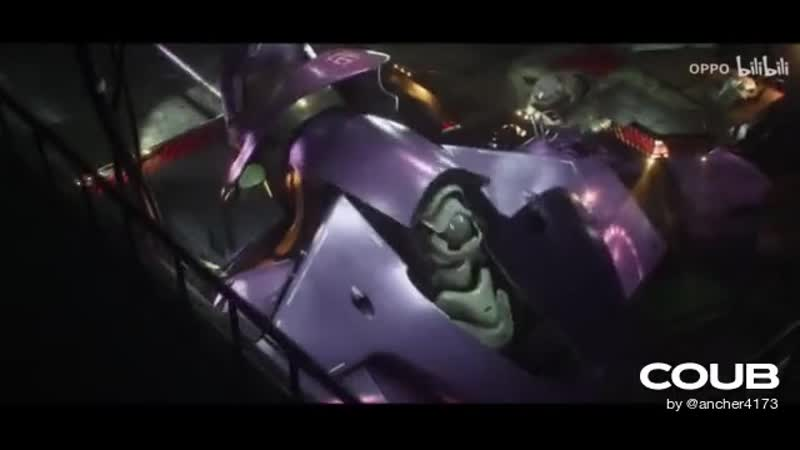 Evangelion x OPPO Ace2 Chinese commercial