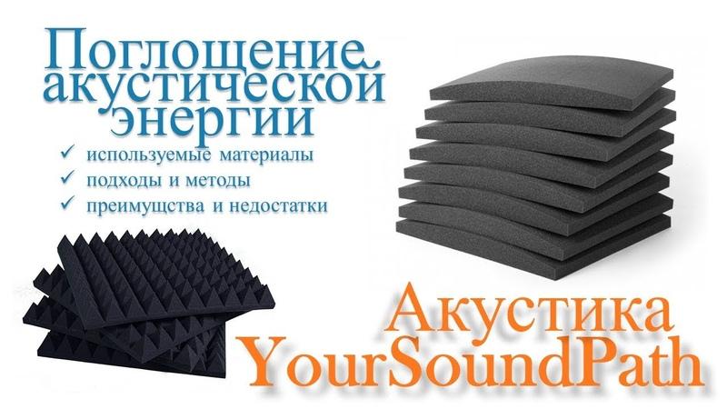 YourSoundPath Акустика Поглощение