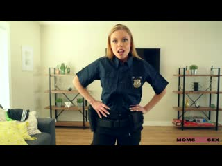 MomsTeachSex Britney Amber - My Step Mom Is A Cop ()