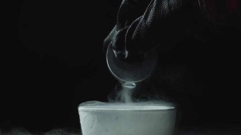 Gadolinium magnetic glass neodymium magnet in liquid nitrogen