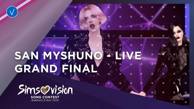 San Myshuno LIVE Lola ft LJ Mad Love Grand Final Simsovision 2020