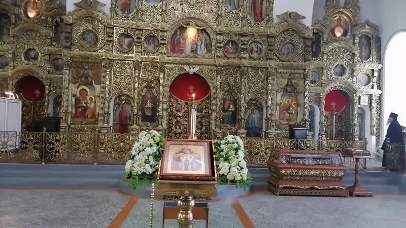 Прямая трансляция литургии. День памяти преподобного Феодора Освященного