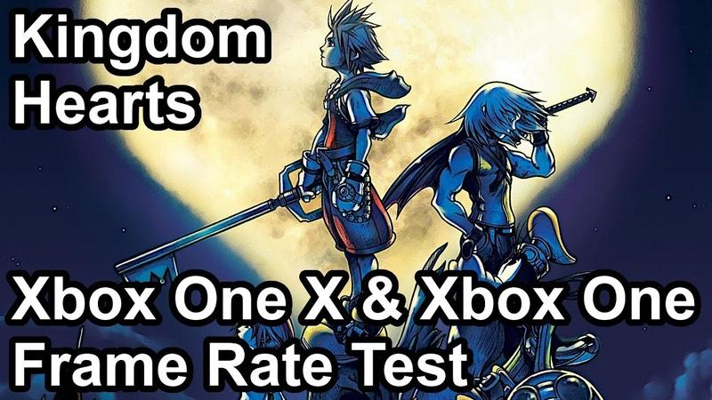 Kingdom Hearts Xbox One X vs Xbox One Frame Rate Comparison