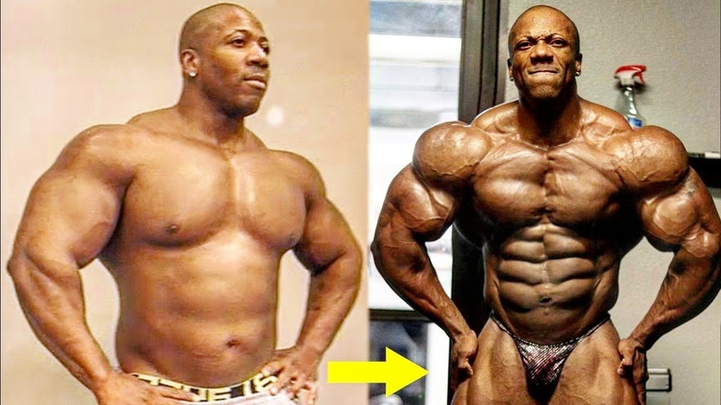 Shawn Rhoden Then And Now Best Body Transformation Of A Mr Olympia
