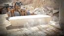 Добыча мрамора на карьере в Испании Crema Marfil