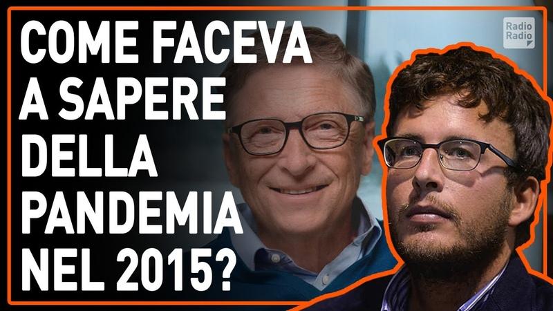 IL MISTERO DI BILL GATES NEL 2015 PREVEDEVA LA PANDEMIA ORA FINANZIA IL VACCINO Diego Fusaro