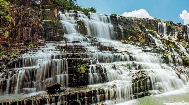Водопад Понгур  каскадная достопримечательность Вьетнама
