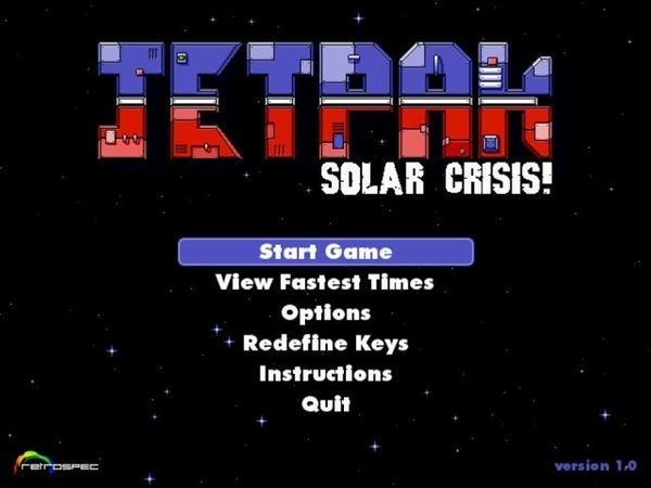 Jetpak: Solar Crisis! Review for the PC by John Gage