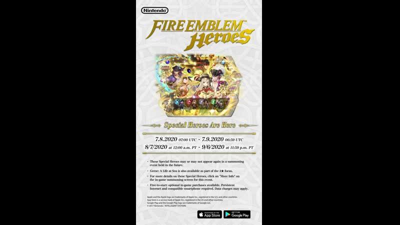 Fire Emblem Heroes Special Heroes Pirate's Pride