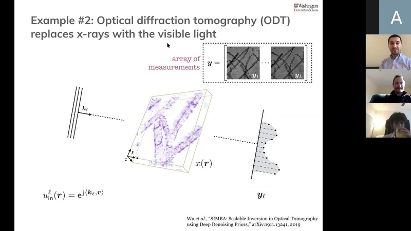 Guest Lecturer Dr Ulugbek Kamilov Computational Imaging Reconciling Models and Learning