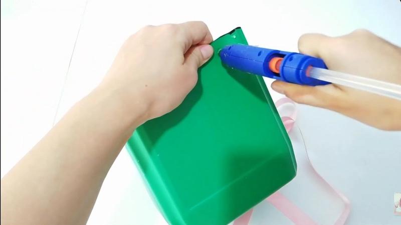Yokmu çamaşır suyu bidonunuz سلة recyclingofplasticwaste design