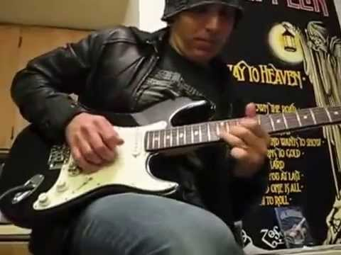 Joe Satriani Great talent although playing a cheap chinese gear
