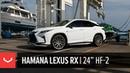 Lexus RX F-Sport | Hamana Japan | Vossen 24 HF-2 Wheels