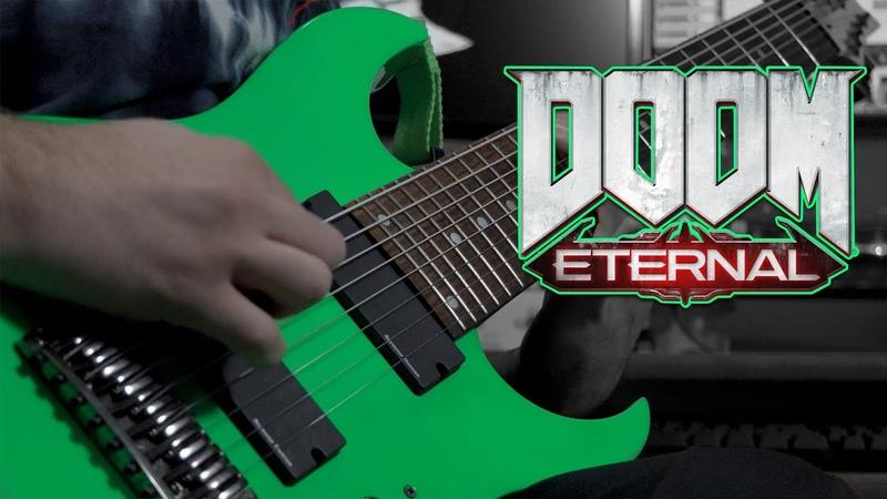 DOOM ETERNAL OST Super Gore Nest Mick Gordon 8 String Guitar Cover