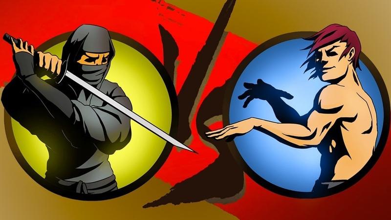 Победил призрака 4 телохранителя Shadow fight 2 (шедоу файт 2)