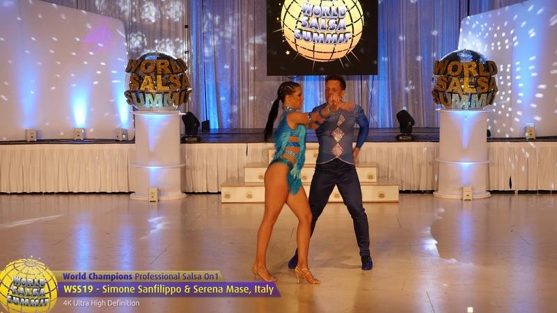 WSS19 Simone Sanfilippo Serena Mase Pro Salsa On1 World Champions