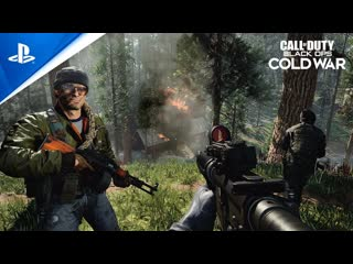 Call of Duty: Black Ops Cold War   Трейлер режима «Огневые группы: Грязная Бомба»   PS4