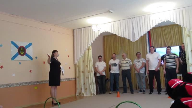мастер класс в 51 детском саду Спортивно музыкальное развлечение Один день в Армии 6 02 20 0561