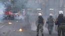 Clashes break out in Athens over tighter demonstration rules AFP